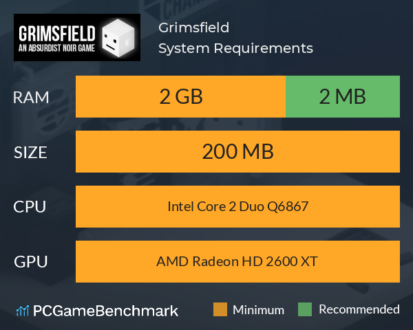 Grimsfield System Requirements PC Graph - Can I Run Grimsfield
