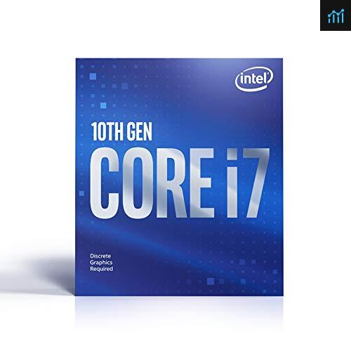Intel Core i7-10700F review - processor tested