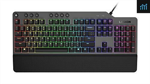 Lenovo GY40T26478 Legion K500 RGB Mechanical review - gaming keyboard tested