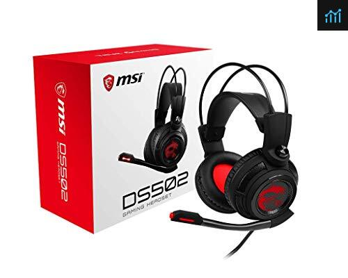 MSI DS 502 review - gaming headset tested