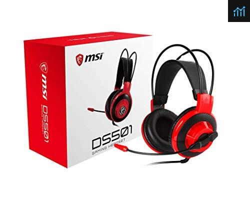 MSI DS501 review - gaming headset tested