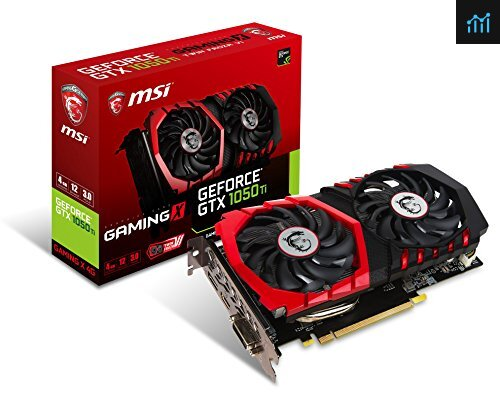 MSI GeForce GTX 1050 TI GAMING X 4G review - graphics card tested