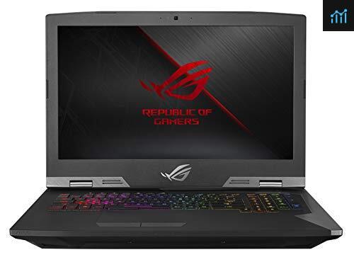 ROG G703GX Desktop Replacement review - gaming laptop tested