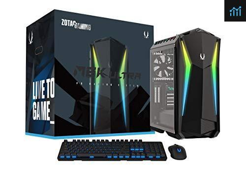 ZOTAC Gaming MEK Ultra Gaming PC review - gaming pc tested