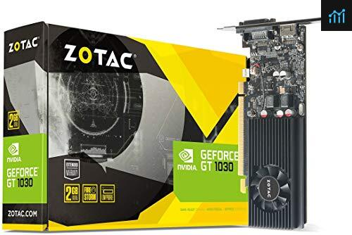 Zotac ZT-P10300A-10L NVIDIA GeForce GT 1030 2GB review - graphics card tested