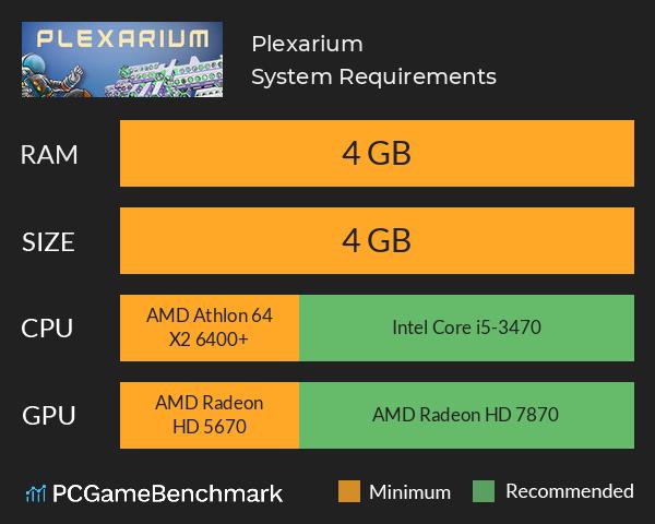 Plexarium System Requirements Can I Run It Pcgamebenchmark